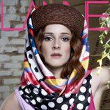 Ana Polvorosa, portada de la revista Lanne
