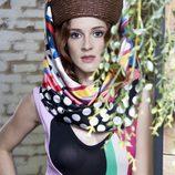 Ana Polvorosa con un colorido body de Amaya Arzuaga para la revista Lanne