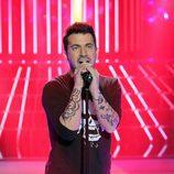 Arturo Valls imita a Maroon 5 en la gala solidaria de 'Tu cara me suena'