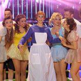 Actuación de Nuria Fergó en el especial de 'Tu cara me suena'