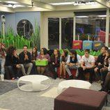 Los concursantes de 'Gran Hermano catorce' conocen a la madre de Lorena