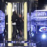 Rafa acompaña a Lorena en su salida de la casa de 'Gran Hermano catorce'