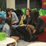 Argi, Susana, Noe y Raky juntas en la cuarta gala de 'Gran Hermano catorce'
