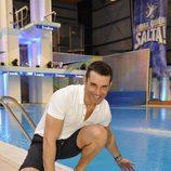 Jesús Vázquez en la piscina de '¡Mira quién salta!'