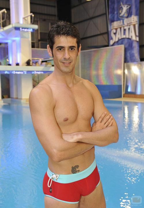 Víctor Janeiro, concursante de '¡Mira quién salta!'