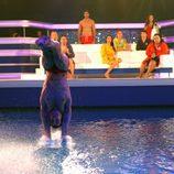 Gervasio Deferr cae al agua de cabeza en 'Splash! Famosos al agua'