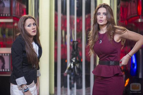 Argi y Susana tras la expulsión de Edoardo