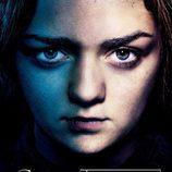 Arya Stark, póster promocional de la tercera temporada de 'Juego de tronos'