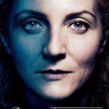 Catelyn Stark en el póster promocional de la tercera temporada de 'Juego de tronos'