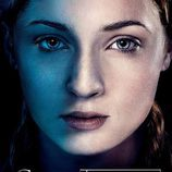 Sansa Stark en el póster promocional de la tercera temporada de 'Juego de tronos'