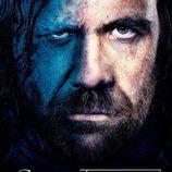 Sandor Clegane en el póster promocional de la tercera temporada de 'Juego de tronos'