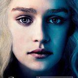 Daenerys Targaryen en el póster promocional de la tercera temporada de 'Juego de tronos'