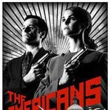 Cartel promocional de 'The Americans'