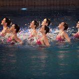 Natación sincronizada en 'Splash! Famosos al agua'