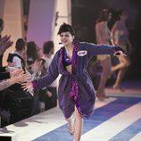 Angy Fernández entra al plató de 'Splash! Famosos al agua'