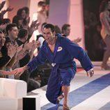 Darío Barrio entra al plató de 'Splash! Famosos al agua'
