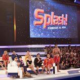 Concursantes de la segunda gala de 'Splash! Famosos al agua'