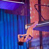 Salto de Angy Fernández en 'Splash! Famosos al agua'