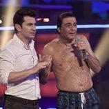 Arturo Valls y Máximo Valverde esperan la valoración del jurado de 'Splash! Famosos al agua'