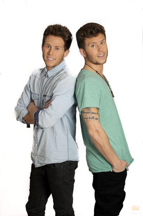 Los gemelos Gonzalo y Carlos, nuevos concursantes de 'Gran Hermano catorce'
