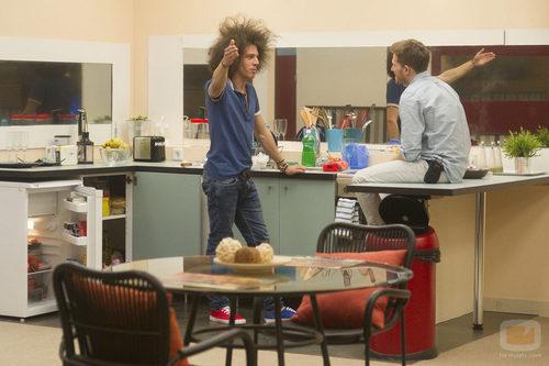 Kristian y Gonzalo se conocen en la casa pequeña de 'Gran Hermano catorce'