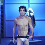 Antonio Rossi desfilando en la primera gala de '¡Mira quién salta!'