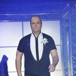 Nacho Montes desfilando en la primera gala de '¡Mira quién salta!'
