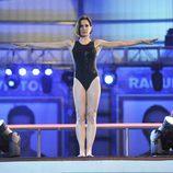 Natalia Millán en el trampolín de '¡Mira quién salta!'