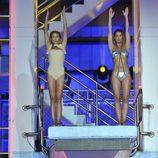 Mar Segura y Tamara Gorro saltando juntas en '¡Mira quién salta!'