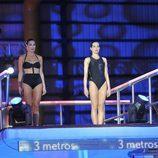Verónica Hidalgo y Natalia Millán saltando juntas en '¡Mira quién salta!'
