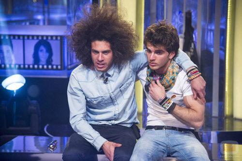 Kristian vuelve a la casa de 'Gran Hermano catorce' y se reencuentra con Edoardo