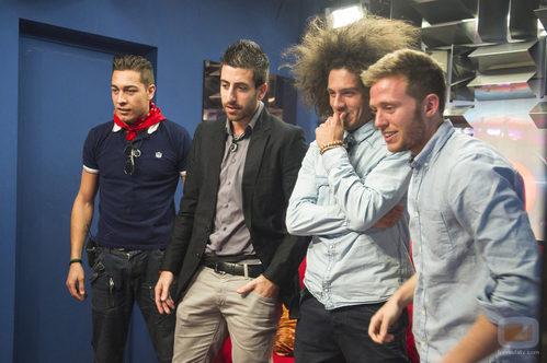 Los concursantes de 'Gran Hermano catorce' descubren la verdad sobre los gemelos Carlos y Gonzalo