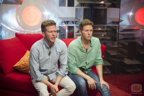 Los gemelos Carlos y Gonzalo nominan por primera vez en 'Gran Hermano catorce'