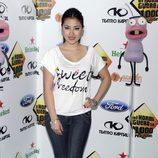 Giselle Calderón en la fiesta de los mil programas de 'El Hormiguero'