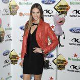 Helen Lindes en la fiesta de los mil programas de 'El Hormiguero'