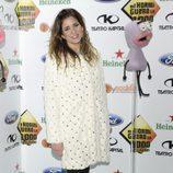 Lucía Jiménez en la fiesta de los mil programas de 'El Hormiguero'