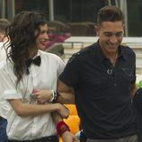 Raky y Juan Carlos del brazo en 'Gran Hermano catorce'
