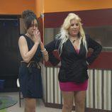 Las nuevas concursantes, Yessica y Anabel, llegan a Guadalix