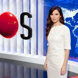 Olga Lambea, presentadora de 'Informe semanal'