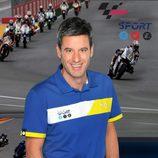 Nico Abad, comentarista del Mundial MotoGP 2013