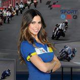 Melissa Jiménez, comentarista del Mundial MotoGP 2013