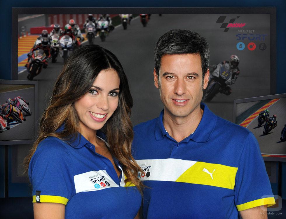 Melissa Jiménez y Nico Abad