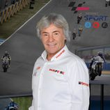 Ángel Nieto, comentarista del Mundial MotoGP 2013