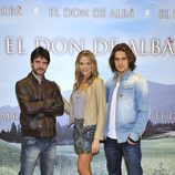 Protagonistas de 'El don de Alba'