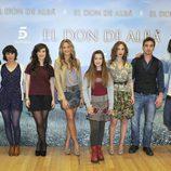 Reparto de la nueva serie de Telecinco, 'El don de Alba'