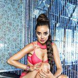 Carmen Alcayde, diva del pop para Interviú