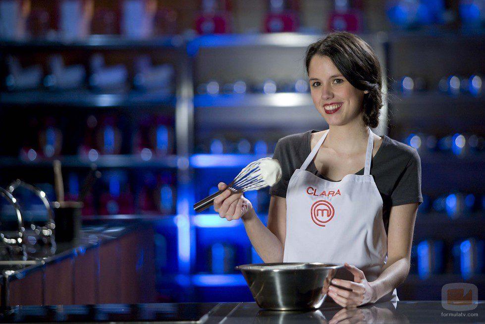 Clara, concursante de 'MasterChef'