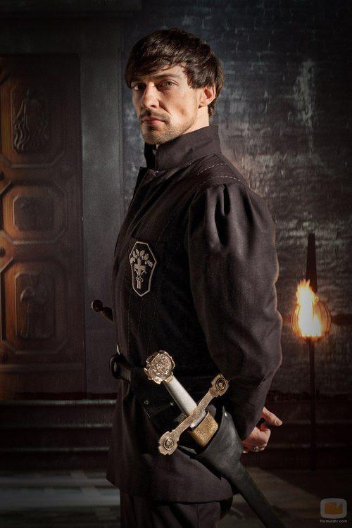 Blake Ritson es el conde Riario en 'Da Vinci's Demons'