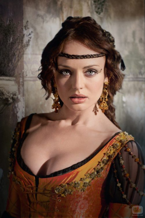 Laura Haddock en el papel de Lucrezia Donati