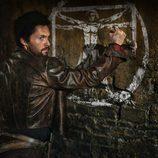 Tom Riley, en una escena de la serie 'Da Vinci's Demons'